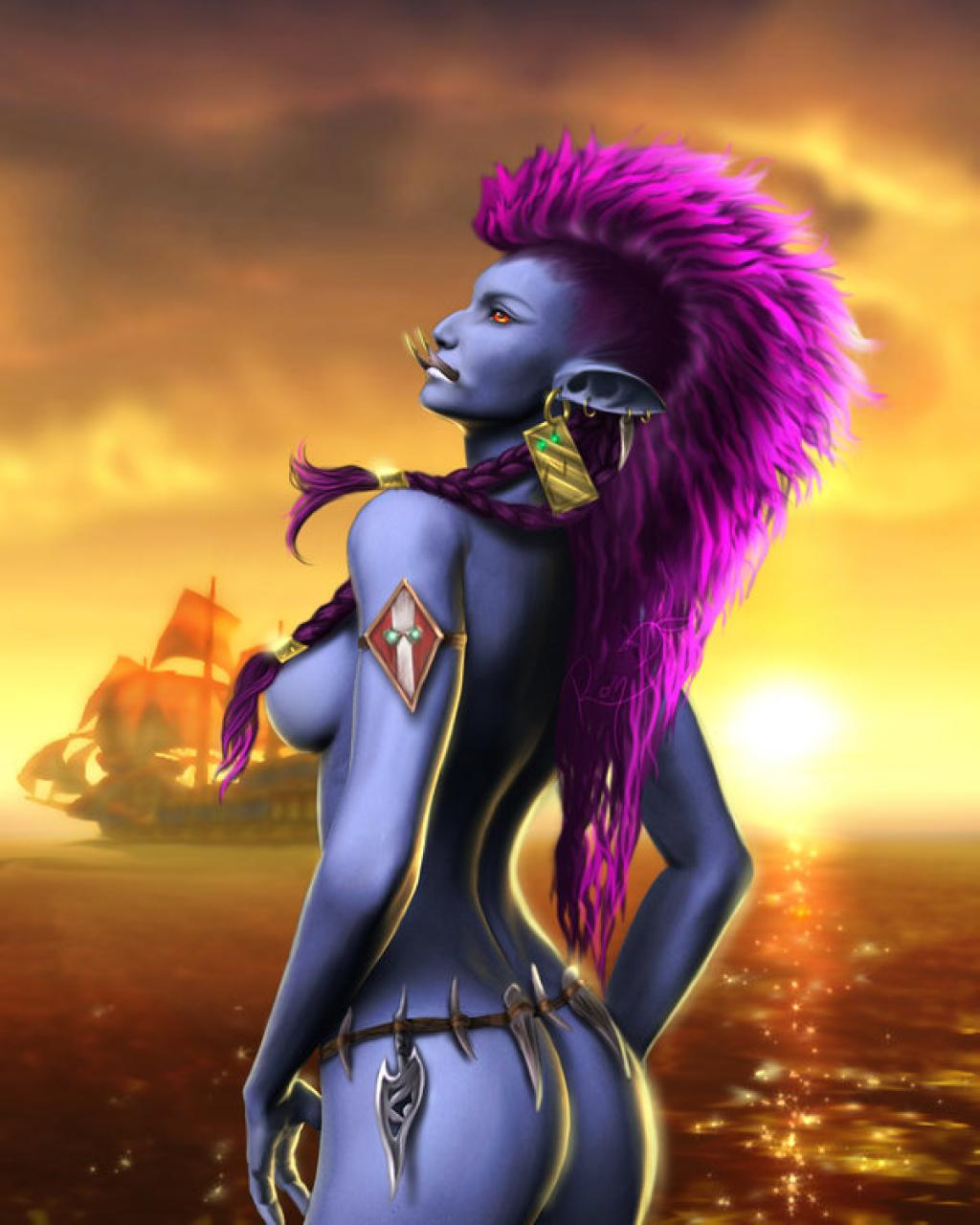 Sexy WoW trolls nackt download